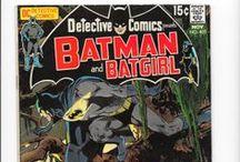 Batman Comic Books / DC & Detective Comics, 1960s & 1970s / by Em Hale