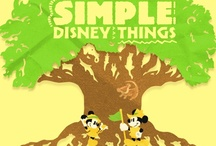 Simple disney things / It's the simple things that I love the most / by melissa garcia