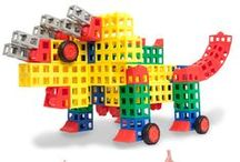 ROK Blocks - Building Blocks / Create, imagine, build, play! ROK Blocks make it easy even for young children to bring their ideas to life. It's a building block that engages the whole family in creative play.  / by Rokenbok Toys