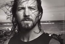 eddie vedder... / There are three men in my life that make me crazy. And one of them is definitely Eddie... / by stephanie