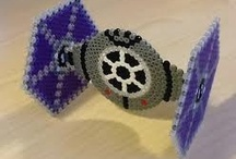 STAR WARS / aus Bügelperlen - Hama & Perler beads   / by Mutti Mamma