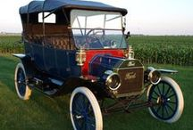 Vintage Automobiles (1880's-1929) / Steam Powered / Brass Era / Electric Coach / Motorized & Steam Buggy / by Allan Dynes