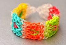 RAINBOW  LOOM: Jewelry / Rainbow Loom: Der neue Modeschmuck  / by Mutti Mamma
