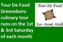 Greensboro  / by Tour De Food