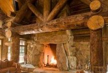FIREPLACES / by STONERANCHER