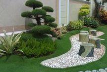 ideas para el jardin / by Maria José da Silva Pedras
