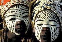 African tribal masks / by Sandra Raichel