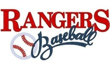 Texas Rangers Baseball / by Rick Ramsey