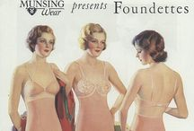 Vintage Lingerie Ads / Ads and Catalog pages from the 20's thru the 80's.  Very interesting to see how times have changed over time. / by Tina Toledo