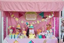 "Kinsley's 1st Birthday...""Big Top Vintage Circus""  / by Laci Enclade"