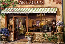 Antique & Flea Market  Shopping / by Sherri Clenney