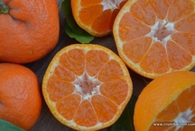 Orange Food Inspiration / Have fun eating healthy! A few orange foods to inspire #52NewFoods via www.crunchacolor.com / by Jennifer Tyler Lee