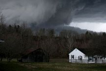 It Was A Dark & Stormy Night / As a young girl I LOVED watching storms and lightning over the lake where I lived. Nature at its mightiest! / by Jacki Marunycz