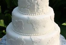 """I DO"" for Cakes / Beautiful wedding cakes.. / by CharmingDiva"