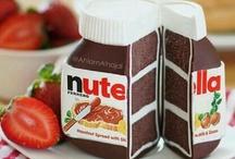 Nutella....i love it!!!  / by Nina Fogolini