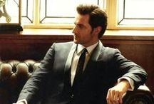 Richard Armitage is Matthew Clairmont / As we read A Discovery of Witches, it became clear that any description of Matthew Clairmont that was presented invoked images of Richard Armitage. / by Armitage4Clairmont