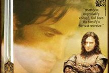 The Brotherhood / A board that features the Knights of Lazarus from the All Souls Trilogy.  From the Desk of the Daemons: HUGE DISCLAIMER- With the exception of Richard Armitage as Matthew, we do not officially endorse any of the actors depicted in these graphics. We just thought they were lovely.  / by Armitage4Clairmont