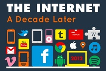 Technology History  / Info graphs explaining the history of technology in a colorful way. / by Steve Erickson