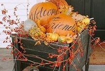 Happy Fall Ya'll!! / Fall, Autumn, and Thanksgiving home décor and entertaining ideas. / by Genie