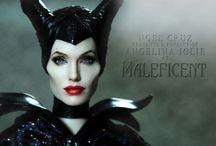 Angelina Jolie by Noel Cruz / by Farrah Fawcett