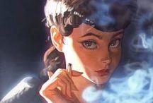 Disney, Dessins, Art, Drawings / I am a big big fan of Disney/Pixar and crazy of drawings !!! <3<3<3<3 / by dreamy Coralie