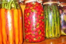 Recipes - Preserves, pickles, jellies, jams & jars / by Roslyn Manibusan