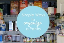 Home Solutions / Organization ideas, cleaning, easy handyman projects / by Angie Vallejo