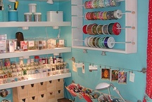 Craft Storage / If my stash keeps growing, I definitely need more ideas! / by Angie Vallejo
