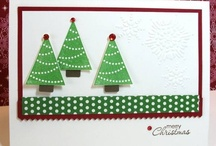 Christmas Card Ideas - Easy / Christmas Cards that are easy enough for even kids to make. / by Melanie Lewis