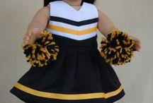 """18"""" doll clothes / by Carolyn Wilson"""