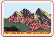 Growing up in SUNLAND / Sunland - Tujunga  Part of living in S-T was driving all over to get to anything. So this incorporates all surrounding areas too. / by Amy Oxender