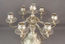 SILVER and CRYSTAL / Sterling sylver, fine sylver, and other sylver, Cristal etc.. FINE ART TABLE / by Mamelise