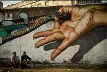 Urban Graffiti & Street Art / Collecting some of the best street art, urban art, wall murals & graffiti art from street artists all over the world / by Mr Pilgrim