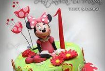 Μickey and Minnie cakes / by Antonios Kossifas