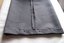 Alter  Repair Re-fashion- Clothing / by Sewing Love