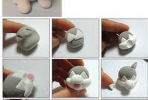 Návody (tutorials) polymer clay / by Iveta Debnárová