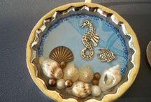 Krištáľová živica (crystal resin) tutorials / Pomocou krištáľovej živice možno vytvoriť krásne šperky,prívesky,darčeky.Na tomto mieste sú návody aj inšpirácie. / by Iveta Debnárová