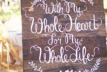 Wedding ideas / by Alexandra Job