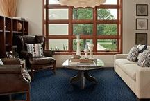 So Blue / Blue color trend / by Tuftex Carpets of California