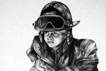 FIREFIGHTER / by Linda Weber