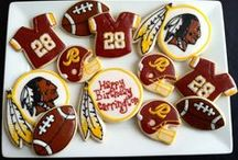 The Sweetest Things / Show off your Redskins pride...in the form of baked goods! / by Washington Redskins