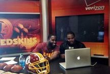 Google+ Hangouts / Redskins players hang out with fans during Google+ Hangouts. Stay tuned to find out when the next Google+ Hangout will be!  / by Washington Redskins