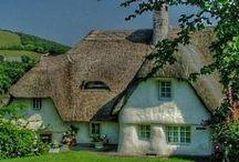 Cottages (cob, straw bale, etc.) / by Keri Parker