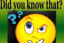 DID YOU KNOW??? / Please No more than10 pins per day from my boards.  I do NOT want to Block U / by ♥~NiKitA~♥