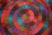 knitting: short rows - swing knitting / swing knitting : verkorte naalden breien / by griet bombeke