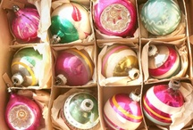 Vintage Christmas Tree Ornaments / by Nancy Cottenden