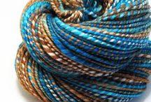 Yarn,yarn and again yarn!!! / by Maria Toropoc