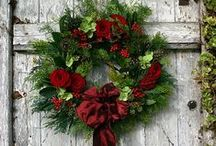 Holiday Wreaths~Door Decorations / by Judy Duffy