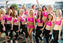 Think Pink! / October sees the launch of our new #PanacheSport pink colour way, from which 10% of the profit of this award winning sports bra will be donated to Breast Cancer Awareness charity #CoppaFeel!  / by Panache Lingerie