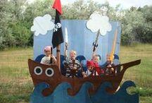 Ian & los piratas de nunca jamás / by Fanny Zenteno